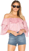 Lovers + Friends x REVOLVE Andrea Top in Red. - size M (also in S)