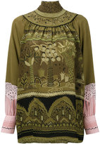 Valentino Jungle Of Delight blouse - women - Silk - 40