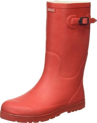 Aigle Unisex Kids Woodypop Fur Rain Boot