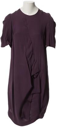 Marni Purple Silk Dresses