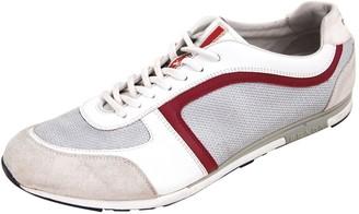 Prada Grey Cloth Trainers