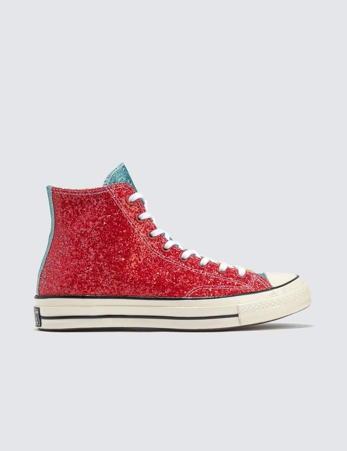 26e21dfd37f9 Converse Glitter Sneakers - ShopStyle