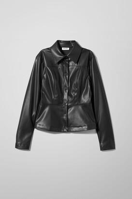 Weekday Viviana Shirt - Black