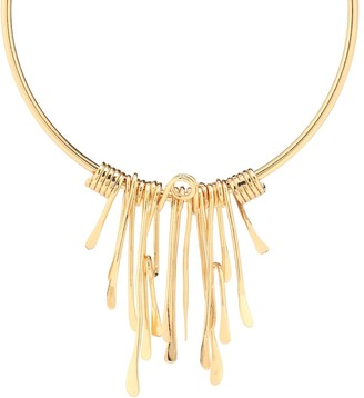 Tohum Design Dunya Calusa 24kt gold-plated necklace