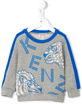 Kenzo wild cats print sweatshirt - kids - Cotton - 24 mth