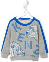 Kenzo wild cats print sweatshirt