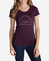 Eddie Bauer Women's Graphic T-Shirt - Wanderers