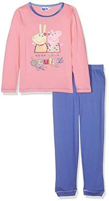 Peppa Pig Girl's HQ2198 Pyjama Set