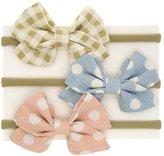 ClorisAccessory Baby Toddler Girls Hair Bow Stretchy Nylon Hair Band Headbands