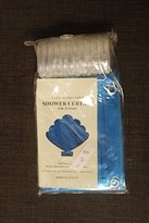 Abahub Shower Curtain Liner Set SG-89 70'' x 70'' Blue