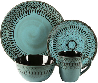 Jay Imports Jay Import Delilah 16Pc Dinnerware Set