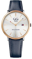 Tommy Hilfiger Leather Strap Watch Gigi Hadid