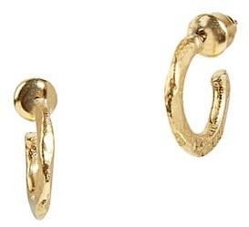 Gurhan Thor 22K & 24K Yellow Gold Small Hoop Earrings