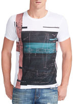 William Rast Aerial Plan Graphic Tee