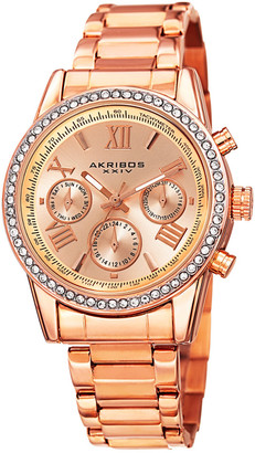 Akribos XXIV Akribos Xxvi Women's Stainless Steel Watch