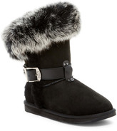 Australia Luxe Collective Tsar Short Genuine Fox Fur and Shearling Boot