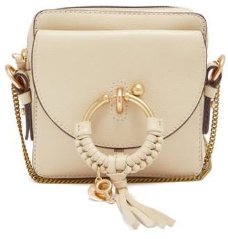 See by Chloe Joan Square Mini Leather Cross-body Bag - Beige