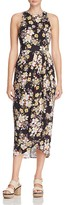 Yumi Kim So Social Pleated Floral Print Dress