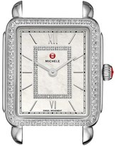 Michele 'Deco II' Diamond Dial Watch Case, 26mm x 28mm
