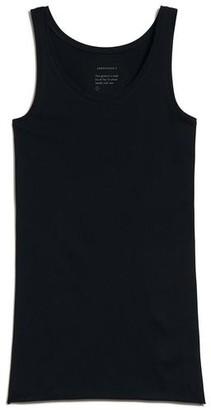 Armedangels Base Layer Organic Cotton Beaa Top In Black - L