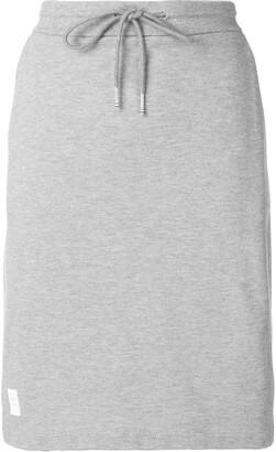 Thom Browne Rwb Stripe Pique Skirt