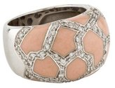 Roberto Coin Enamel Pavé Diamond Ring