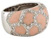 Roberto Coin Enamel Pavé Diamond Ring
