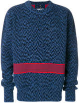 Oamc embroidered sweater