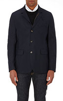 Luciano Barbera MEN'S TECH-TWILL JACKET-NAVY SIZE L