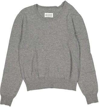 Maison Margiela Grey Wool Knitwear & Sweatshirts