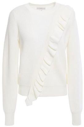 Joie Viviana Ruffled Wool-blend Sweater