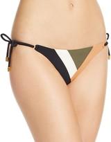Vix Military Patch Side Tie Bikini Bottom