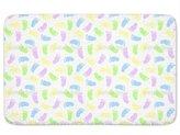 uneekee Tootsies Bathroom Rugs: Incrediby Soft Memory Foam Spa Quality
