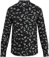 Saturdays NYC Crosby ginkgo-print cotton shirt