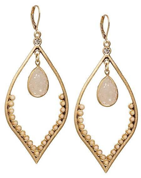 Bloch Sabine Stone Drop Earring