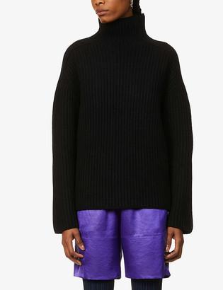 Acne Studios Kamanda ribbed wool turtleneck jumper