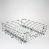 Household Essentials Extra-Deep Sliding Cabinet Organizer, Chrome, 20-Inch