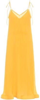 J.W.Anderson Silk-blend midi dress