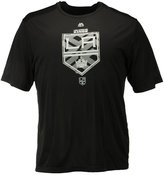 Majestic Men's Los Angeles Kings Solid Win Synthetic T-Shirt