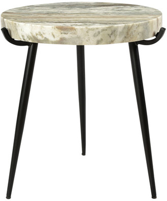 Moe's Home Collection Moes Home Brinley Marble Accent Table