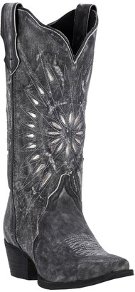 Laredo Leather Cowboy Boots - Starburst