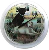 Taylor Precision Products Springfield Labradors Low Profile Patio Thermometer (13.25-Inch)