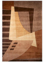 """Momeni New Wave NW-22 Lt. Brown"""" Area Rug, 8' x 11'"""