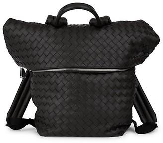 Bottega Veneta Intrecciato Leather Backpack