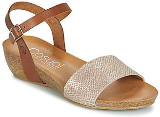 Casual Attitude JALAYEGE women's Sandals in Brown