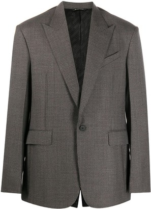 Givenchy Tweed Tailored Blazer