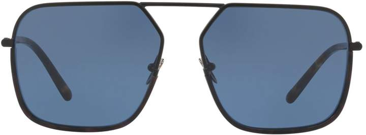Dolce & Gabbana Irregular Metal Sunglasses