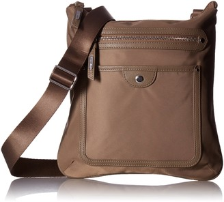 Baggallini Highland Slim Crossbody Bag with RFID Wallet Organizational Pockets with Lightweight Nylon