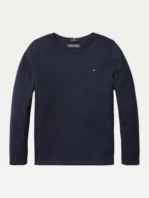 Tommy Hilfiger Organic Cotton Long Sleeve Top