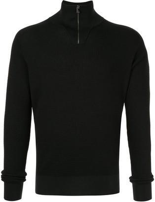 Dolce & Gabbana Slim-Fit Zip-Up Pullover